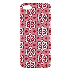 Floral Abstract Pattern Iphone 5s/ Se Premium Hardshell Case