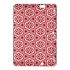 Floral Abstract Pattern Kindle Fire Hdx 8 9  Hardshell Case
