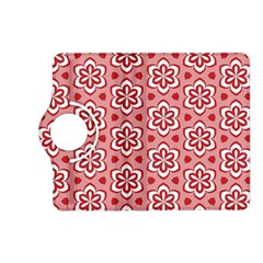 Floral Abstract Pattern Kindle Fire Hd (2013) Flip 360 Case