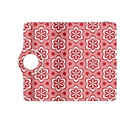 Floral Abstract Pattern Kindle Fire Hdx 8 9  Flip 360 Case