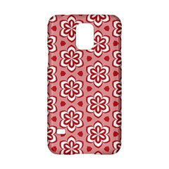 Floral Abstract Pattern Samsung Galaxy S5 Hardshell Case