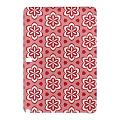 Floral Abstract Pattern Samsung Galaxy Tab Pro 10 1 Hardshell Case