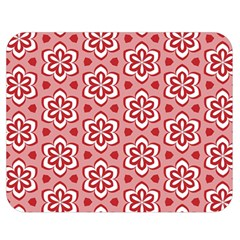 Floral Abstract Pattern Double Sided Flano Blanket (medium)