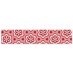 Floral Abstract Pattern Flano Scarf (small)