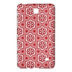 Floral Abstract Pattern Samsung Galaxy Tab 4 (8 ) Hardshell Case
