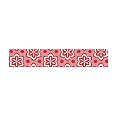 Floral Abstract Pattern Flano Scarf (Mini)