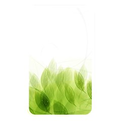 Green Leaves Pattern Memory Card Reader