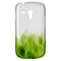Green Leaves Pattern Galaxy S3 Mini