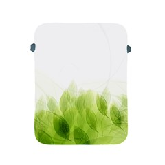 Green Leaves Pattern Apple Ipad 2/3/4 Protective Soft Cases