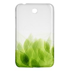 Green Leaves Pattern Samsung Galaxy Tab 3 (7 ) P3200 Hardshell Case