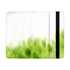 Green Leaves Pattern Samsung Galaxy Tab Pro 8 4  Flip Case