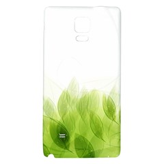 Green Leaves Pattern Galaxy Note 4 Back Case
