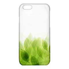 Green Leaves Pattern iPhone 6/6S TPU Case