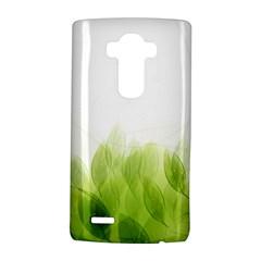 Green Leaves Pattern Lg G4 Hardshell Case