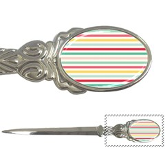 Papel De Envolver Hooray Circus Stripe Red Pink Dot Letter Openers