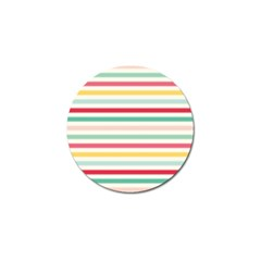 Papel De Envolver Hooray Circus Stripe Red Pink Dot Golf Ball Marker