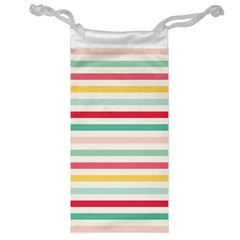 Papel De Envolver Hooray Circus Stripe Red Pink Dot Jewelry Bag