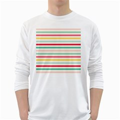 Papel De Envolver Hooray Circus Stripe Red Pink Dot White Long Sleeve T Shirts