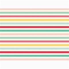 Papel De Envolver Hooray Circus Stripe Red Pink Dot Canvas 12  X 16