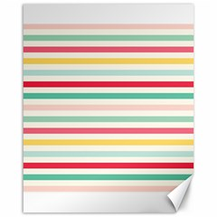 Papel De Envolver Hooray Circus Stripe Red Pink Dot Canvas 16  X 20