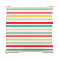 Papel De Envolver Hooray Circus Stripe Red Pink Dot Standard Cushion Case (two Sides)