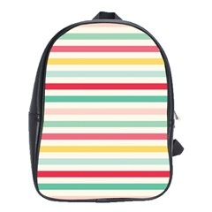 Papel De Envolver Hooray Circus Stripe Red Pink Dot School Bags(large)