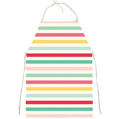 Papel De Envolver Hooray Circus Stripe Red Pink Dot Full Print Aprons