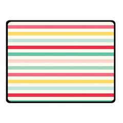 Papel De Envolver Hooray Circus Stripe Red Pink Dot Fleece Blanket (small)