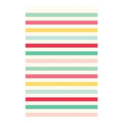 Papel De Envolver Hooray Circus Stripe Red Pink Dot Shower Curtain 48  X 72  (small)