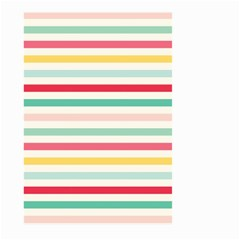 Papel De Envolver Hooray Circus Stripe Red Pink Dot Large Garden Flag (two Sides)
