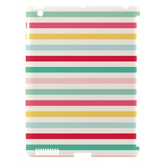Papel De Envolver Hooray Circus Stripe Red Pink Dot Apple Ipad 3/4 Hardshell Case (compatible With Smart Cover)