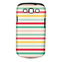 Papel De Envolver Hooray Circus Stripe Red Pink Dot Samsung Galaxy S Iii Classic Hardshell Case (pc+silicone)