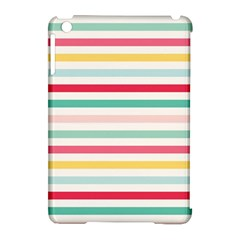 Papel De Envolver Hooray Circus Stripe Red Pink Dot Apple Ipad Mini Hardshell Case (compatible With Smart Cover)