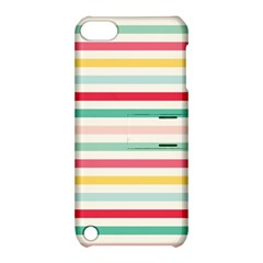 Papel De Envolver Hooray Circus Stripe Red Pink Dot Apple Ipod Touch 5 Hardshell Case With Stand