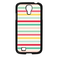 Papel De Envolver Hooray Circus Stripe Red Pink Dot Samsung Galaxy S4 I9500/ I9505 Case (black)