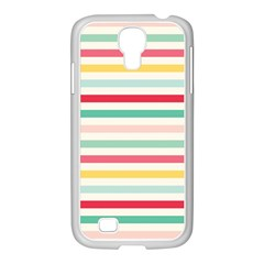 Papel De Envolver Hooray Circus Stripe Red Pink Dot Samsung Galaxy S4 I9500/ I9505 Case (white)