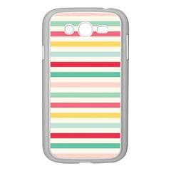 Papel De Envolver Hooray Circus Stripe Red Pink Dot Samsung Galaxy Grand Duos I9082 Case (white)