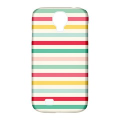 Papel De Envolver Hooray Circus Stripe Red Pink Dot Samsung Galaxy S4 Classic Hardshell Case (pc+silicone)