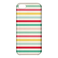 Papel De Envolver Hooray Circus Stripe Red Pink Dot Apple Iphone 5c Hardshell Case