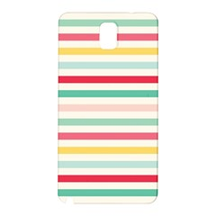 Papel De Envolver Hooray Circus Stripe Red Pink Dot Samsung Galaxy Note 3 N9005 Hardshell Back Case