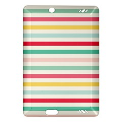 Papel De Envolver Hooray Circus Stripe Red Pink Dot Amazon Kindle Fire Hd (2013) Hardshell Case