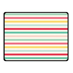 Papel De Envolver Hooray Circus Stripe Red Pink Dot Double Sided Fleece Blanket (small)