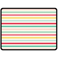 Papel De Envolver Hooray Circus Stripe Red Pink Dot Double Sided Fleece Blanket (large)