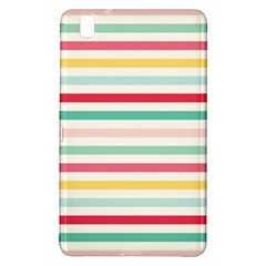 Papel De Envolver Hooray Circus Stripe Red Pink Dot Samsung Galaxy Tab Pro 8 4 Hardshell Case
