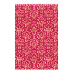 Damask Background Gold Shower Curtain 48  X 72  (small)