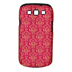 Damask Background Gold Samsung Galaxy S Iii Classic Hardshell Case (pc+silicone)