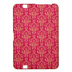 Damask Background Gold Kindle Fire Hd 8 9