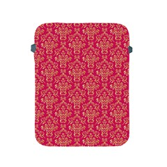 Damask Background Gold Apple Ipad 2/3/4 Protective Soft Cases