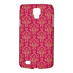 Damask Background Gold Galaxy S4 Active