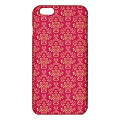 Damask Background Gold Iphone 6 Plus/6s Plus Tpu Case